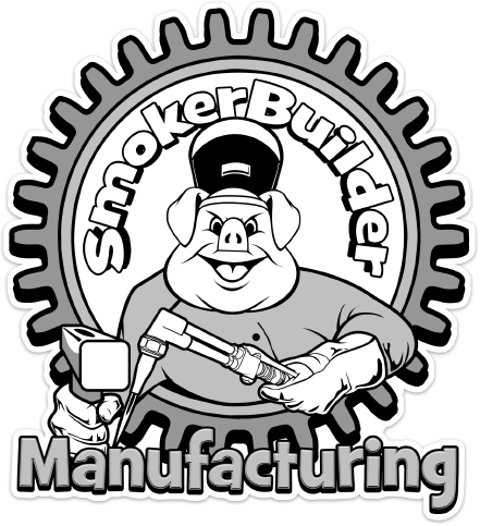 SmokerBuilder Manufacturing 5 inch Torchy Pig Decal