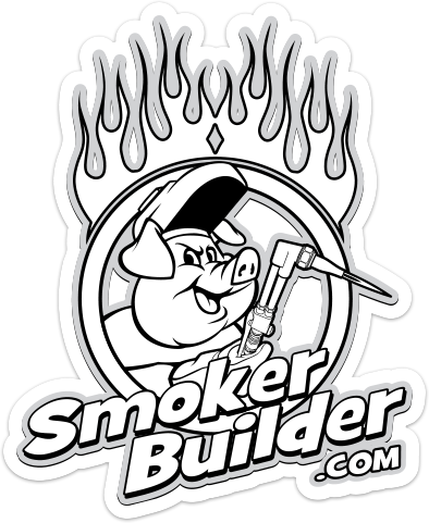 SmokerBuilder.com 5 inch decal