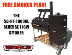 Claim your free Reverse Flow Smoker Plan!